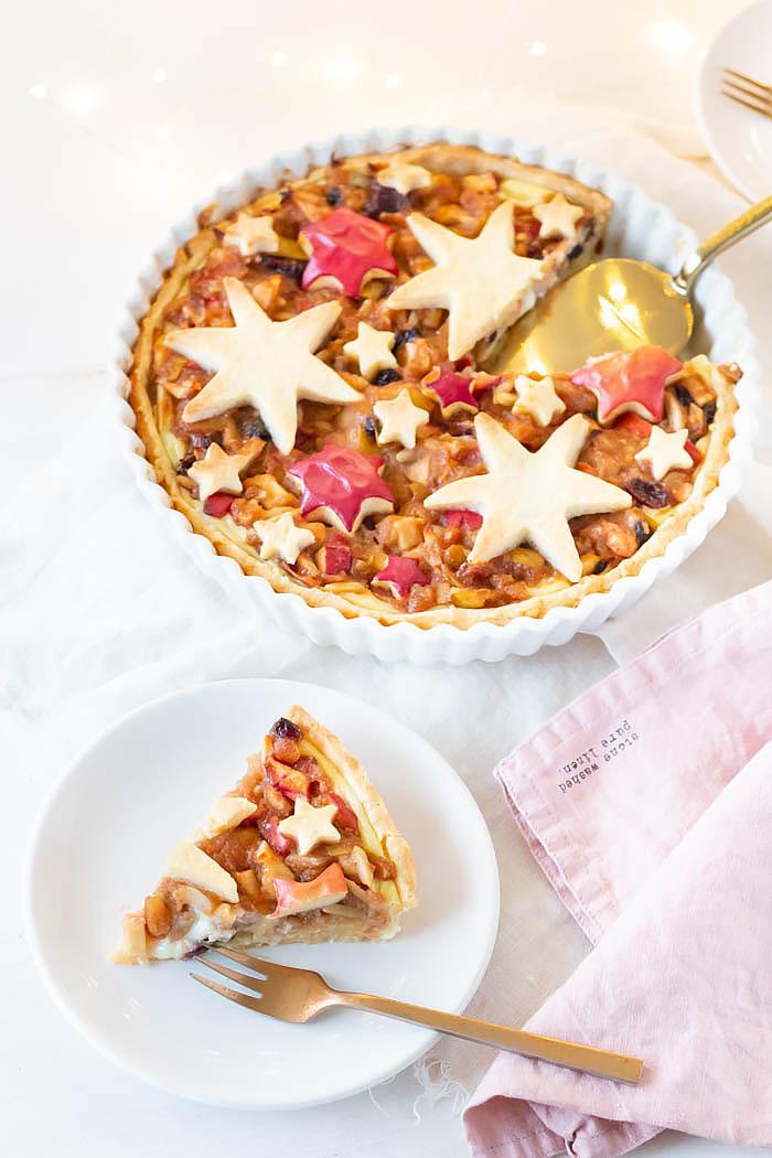 Rezept Weihnachten: Bratapfel Tarte