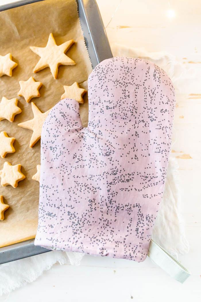 Ofenhandschuhe nähen mit Anleitung