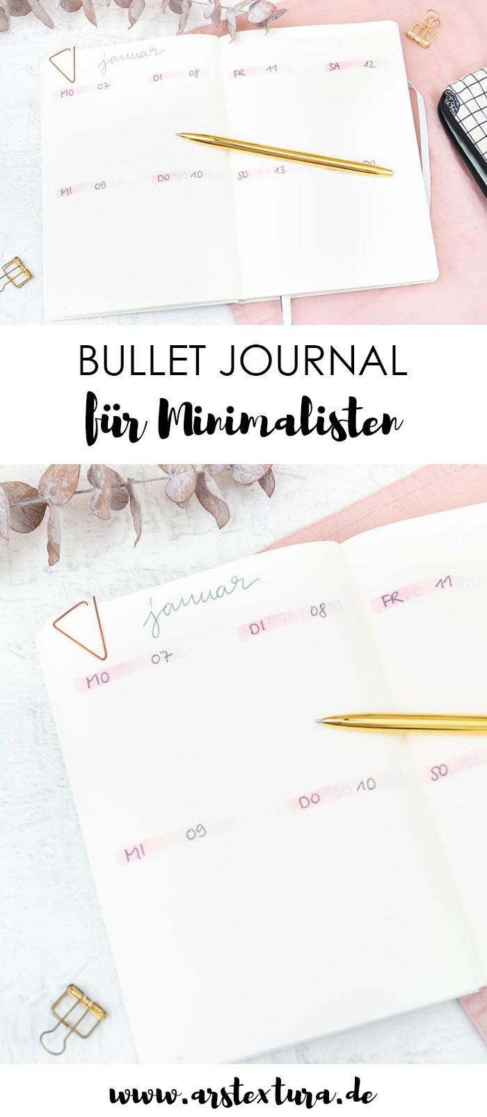 Bullet Journal Set-up und Ideen für Minimalisten und Eilige #bujo #bulletjournal