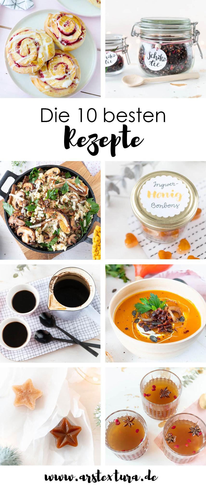 Die zehn besten Rezepte - schnelle und einfache Rezepte und tolle Geschenke aus der Küche