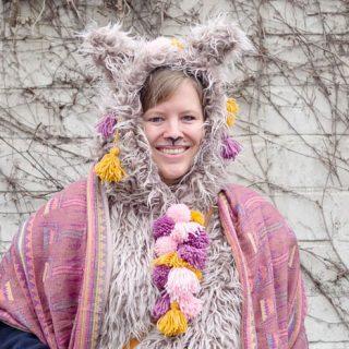 Lama & Alpaka Kostüm zu Karneval selber machen