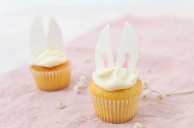 Osterhasen Cupcakes – perfekt zum Osterbrunch