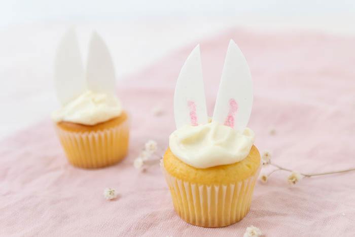 Rezept Osterhasen Cupcakes backen