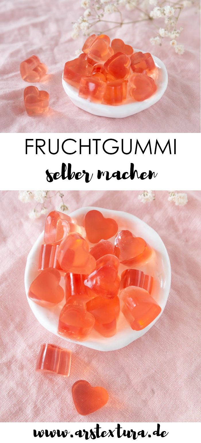 Fruchtgummi selber machen - DIY-Geschenk zum Muttertag