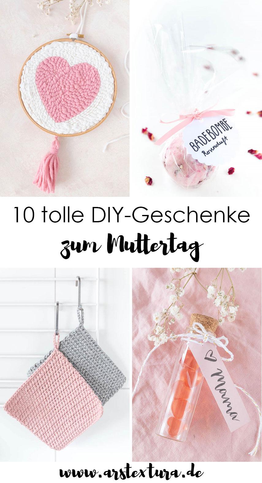 Muttertag 10 geniale DIY-Geschenke für Mütter