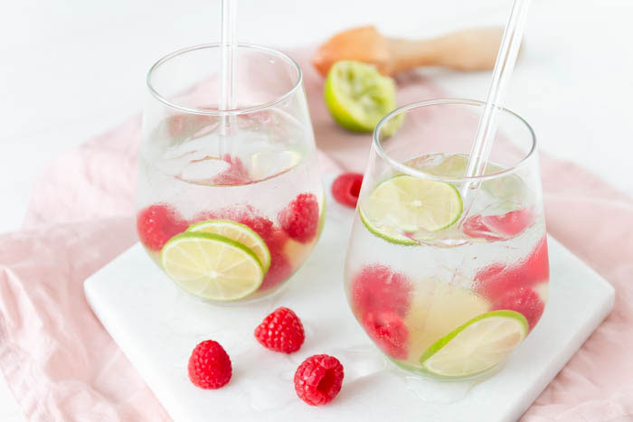 Rezept Himbeer-Limette Gin Tonic