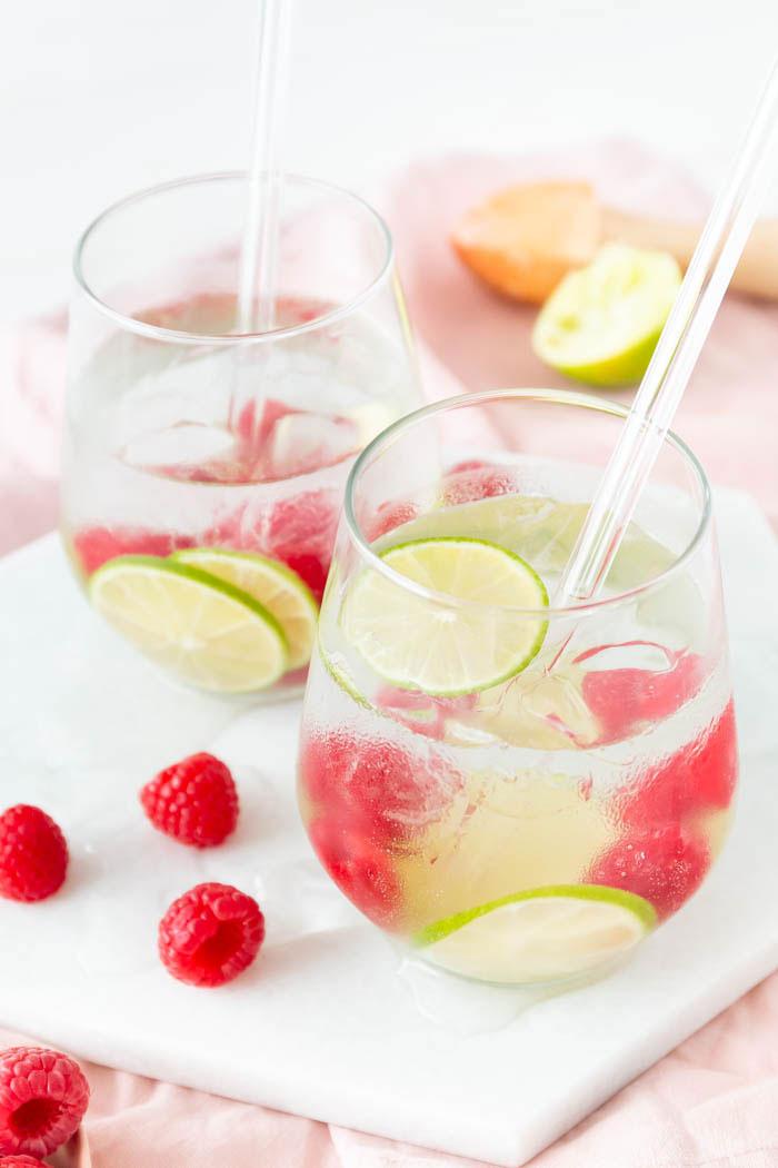 Rezept Himbeere-Limette Gin Tonic