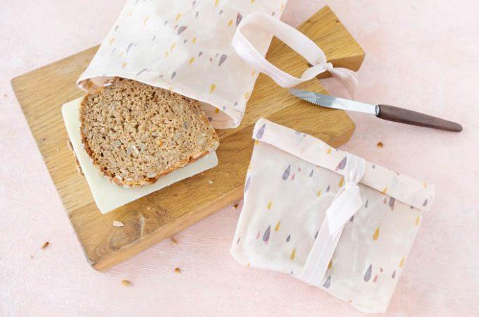Brotbeutel aus Bienenwachstüchern