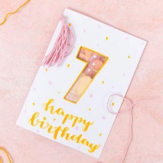 Geldgeschenk als Geburtstagskarte