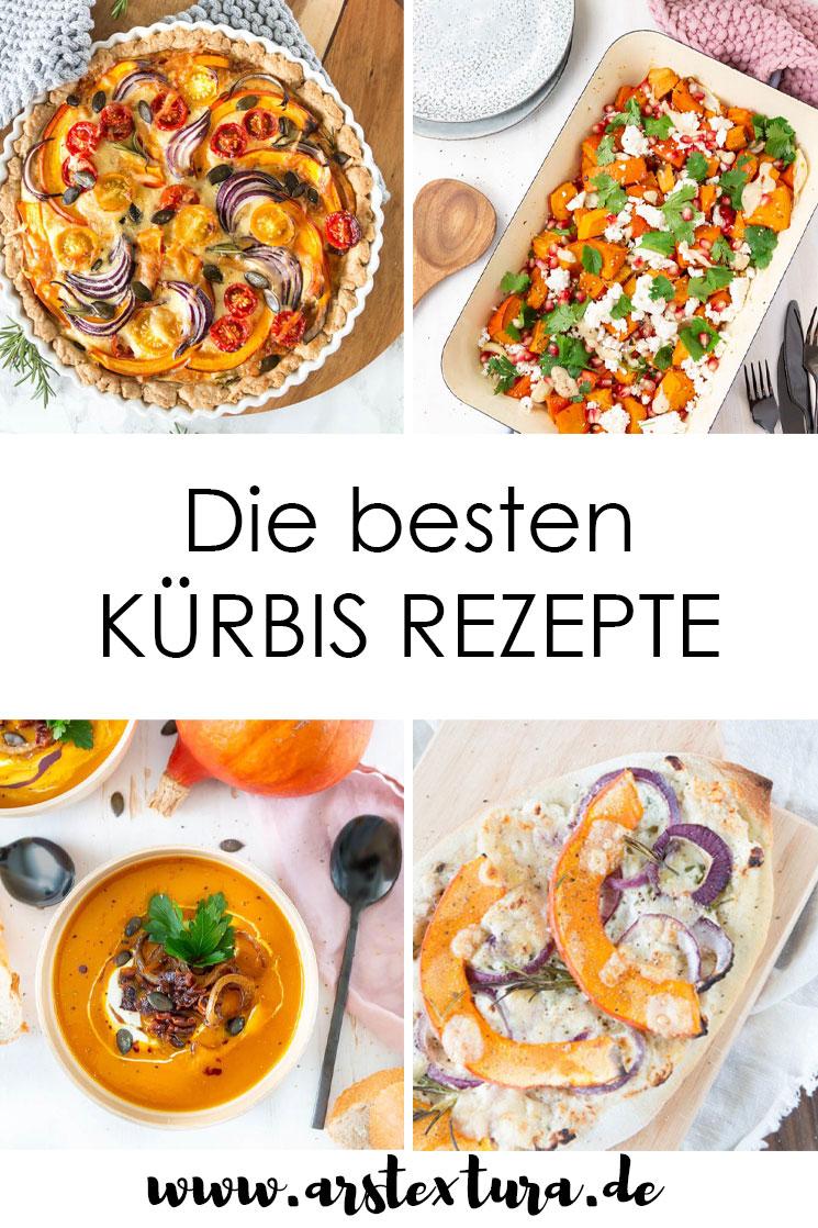 Die besten Kürbis Rezepte für den Herbst: Ob Kürbissuppe, Kürbis Quiche oder Ofenkürbis - hier findest du die leckersten Gerichte mit Kürbis. #kürbis