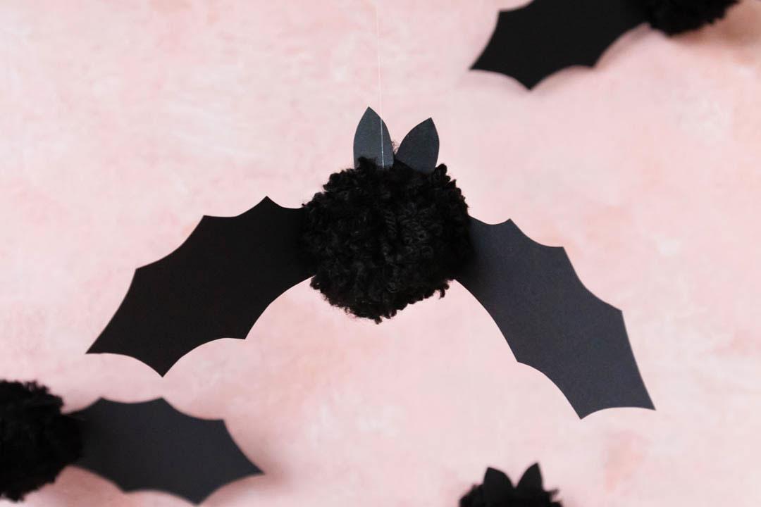 Fledermäuse Aus Pompons Basteln Ars Textura Diy Blog
