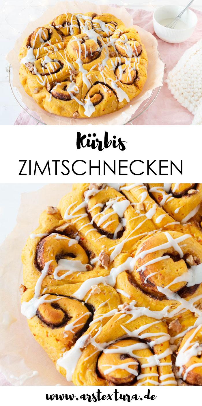 Kürbis Zimtschnecken Rezept