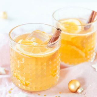 Weihnachtlicher Cocktail Orange Rum