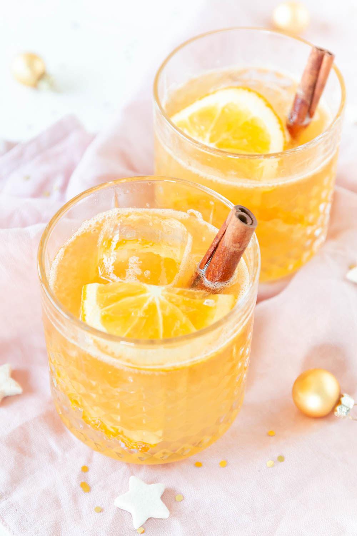 Weihnachtlicher Cocktail Orange Rum