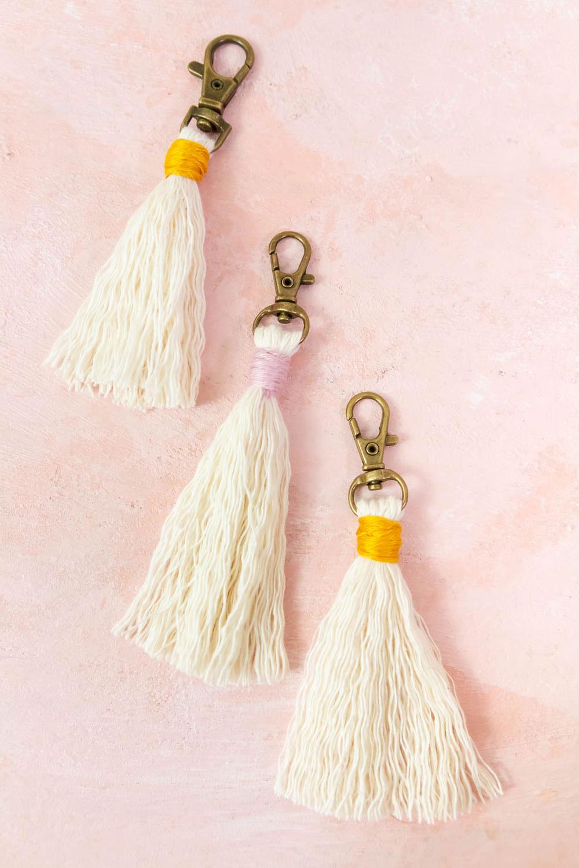 Einfache Schlüsselanhänger selber machen