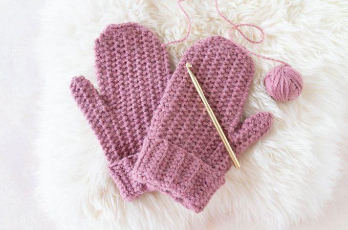 Einfache Handschuhe häkeln
