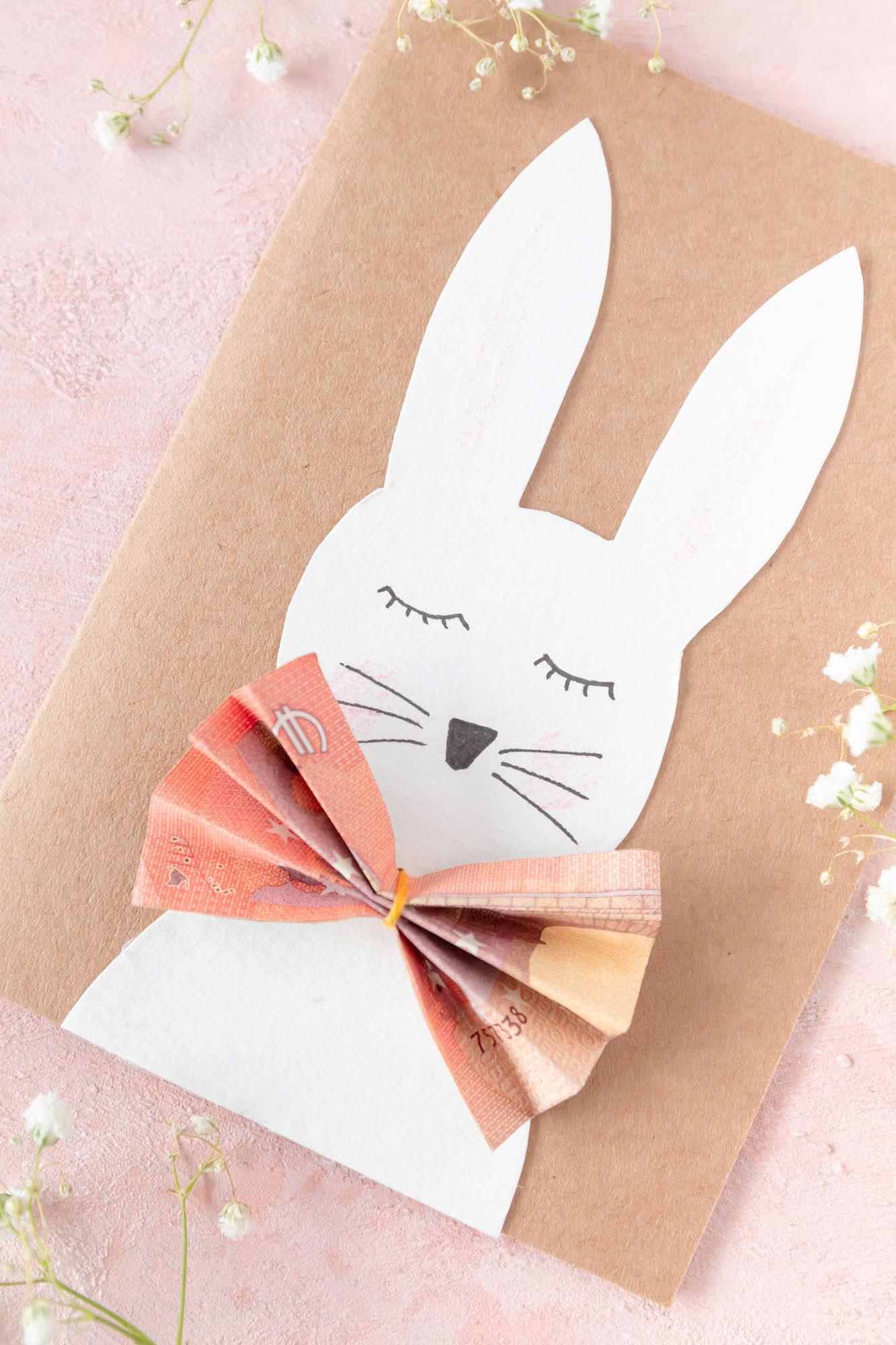 Geldgeschenk basteln zu Ostern