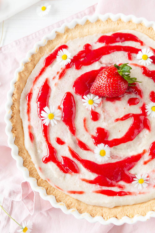 Rezept Erdbeeren Tarte mit Grieß