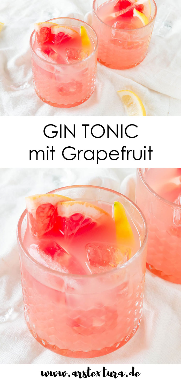 Grapefruit Gin Tonic Rezept