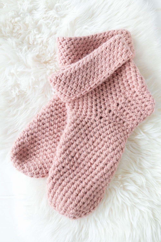 Anleitung: Einfache Socken häkeln