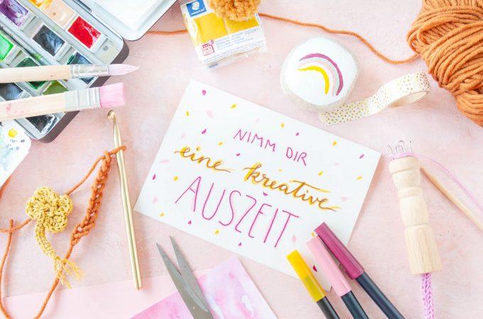 Kreative Auszeit zum Mental Health Day