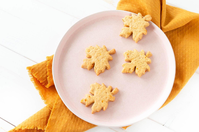 Kürbis Kekse mit Pumpkin Spice
