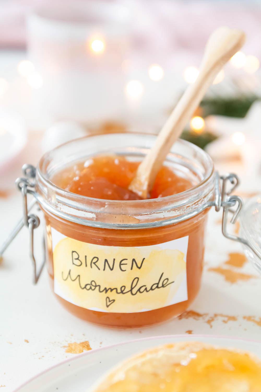 Birnen Marmelade Rezept