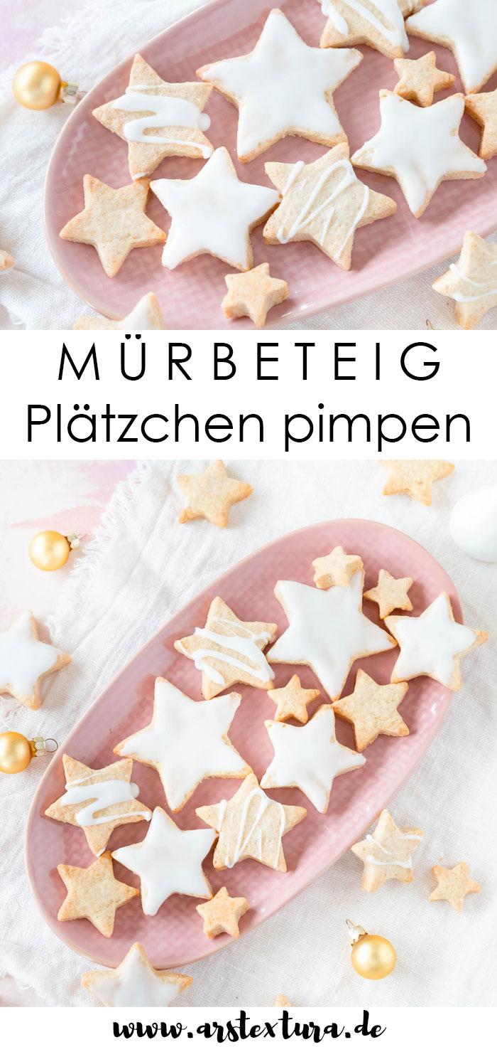 Rezept Mürbeteig Plätzchen backen