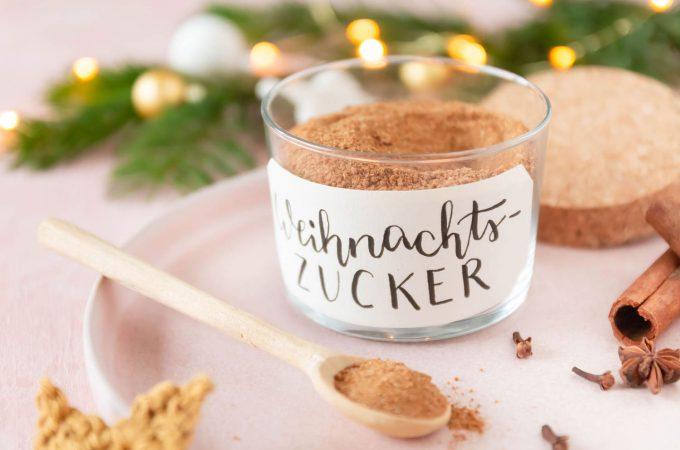 Rezept Weihnachtszucker DIY Geschenk