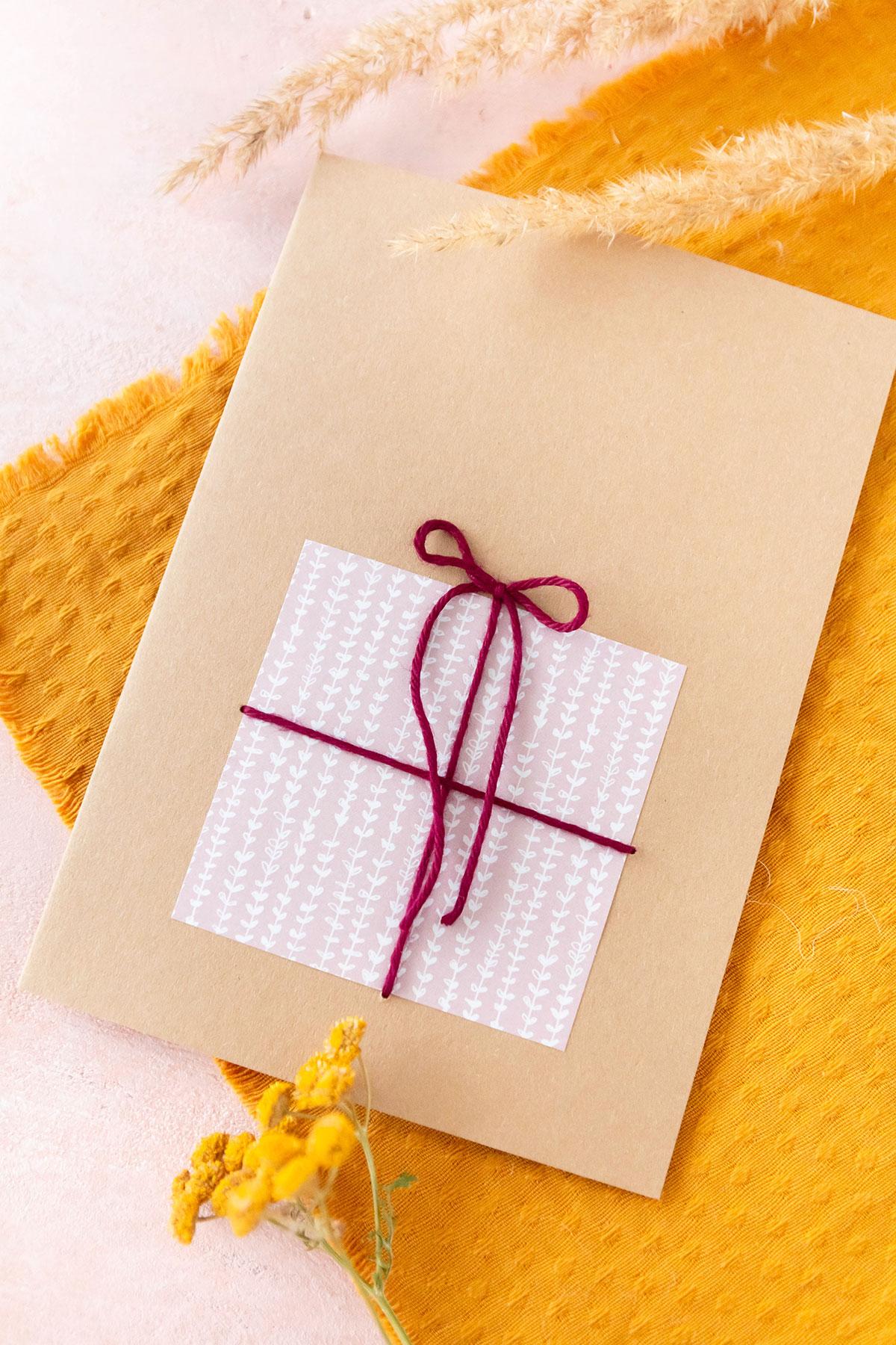Einfache Geburtstagskarten basteln